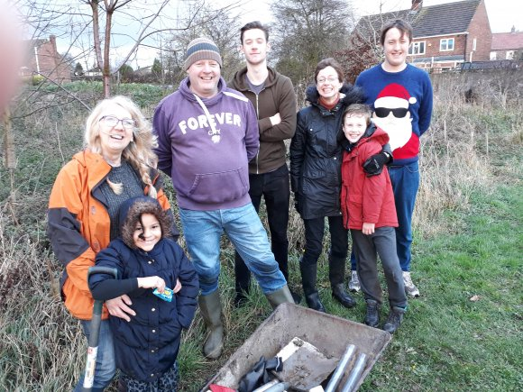 Jubilee Wood Tree Planting